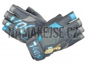 Mad-Max dámské Fitness rukavice VOODOO blue MFG921f