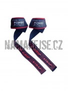 Power System Trhačky XTR Grip straps red 3430