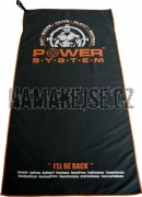 Power System Fitness osuška Gym bench towel
