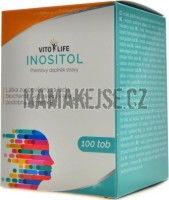 VitoLife Inositol 400mg 100 kapslí -