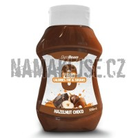 GymBeam Bezkalorický sirup Hazelnut Choco 350 ml  -