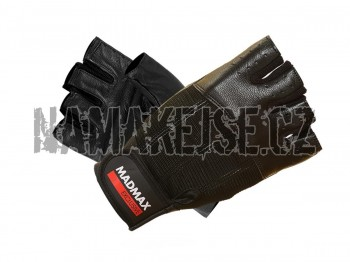 Mad-Max Fitness rukavice classic line black MFG248 -