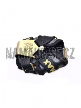 Mad-Max Háčky metallic MFA333 bronz/black -
