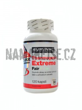 Survival Thermogenic Extreme fair power 120 kapslí -