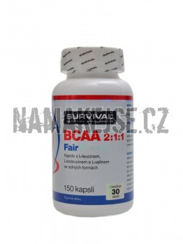 Survival BCAA 2:1:1 Fair power 150 kapslí -