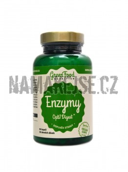 GreenFood-nutrition Enzymes opti 7 digest 90 vegan kapslí -