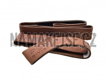 Power System Trhačky Leather lifting straps 3320 -